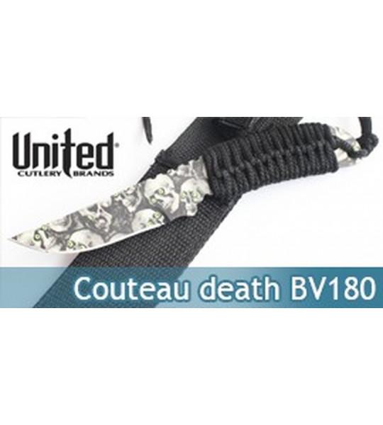 Couteau Death Black Legion BV180 Poignard