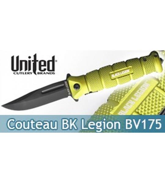 Couteau Pliant Black Legion BV175 United Cutlery