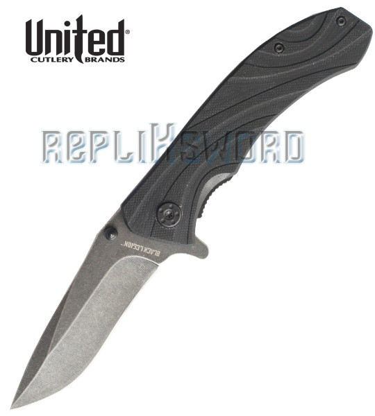 Couteau Pliant Black Legion BV199 United Cutlery