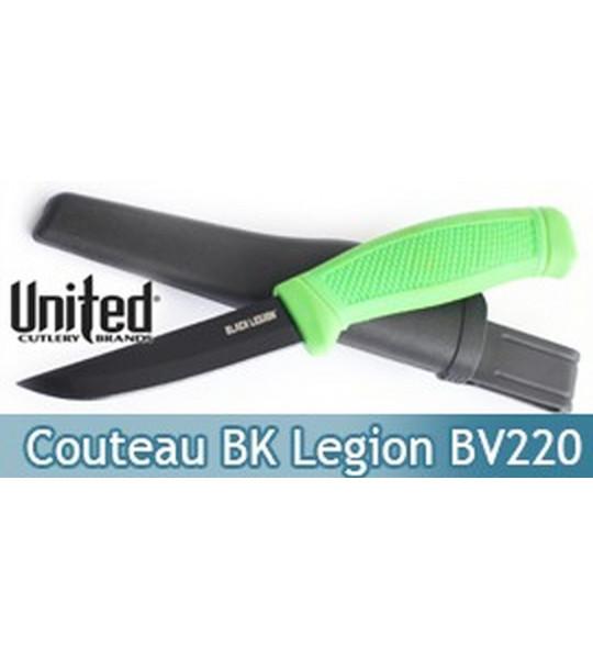 Couteau Black Legion BV220 United Cutlery