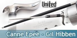 Canne Epée Gil Hibben GH5036 United Cutlery