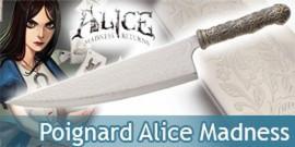 Alice Madness Returns Poignard Vorpal Blade Dague
