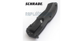 Couteau de Poche Schrade SCHA7BS Black Edition