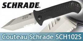 Couteau de Poche Schrade SCH102S