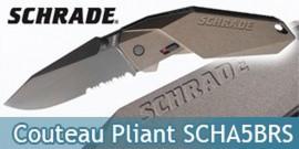 Couteau Pliant Schrade SCHA5BRS