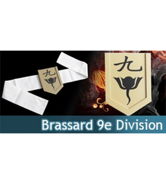 Brassard 9eme Division - Capitaine Muguruma Kensei