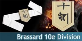 Brassard 10eme Division - Capitaine Toushiro