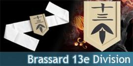 Brassard 13eme Division - Capitaine Jūshirō Ukitake