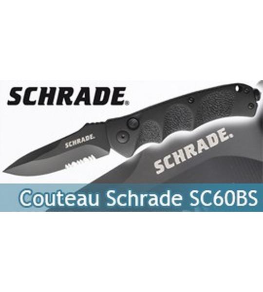 Couteau Pliant Schrade SC60BS