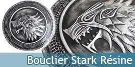 Le Trone de Fer - Bouclier Stark Résine