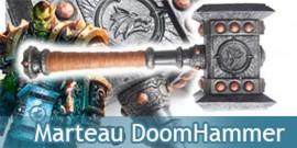 DoomHammer Thrall Marteau Warcraft Résine