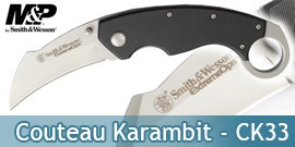 Couteau Karambit CK33 Smith&Wesson