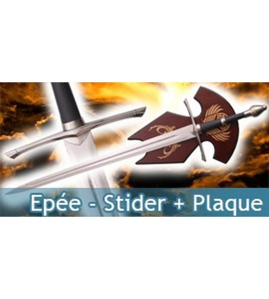 Epée - Strider + Plaque