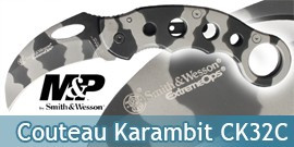 Couteau Karambit CK32C Smith & Wesson