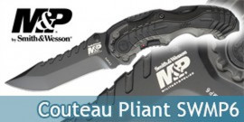 Couteau Pliant SWMP6 Smith & Wesson