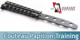 Couteau Papillon Entrainement Black Master Cutlery