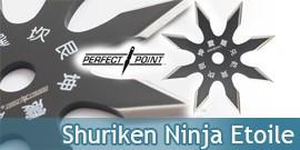Shuriken Ninja Etoile Perfect Point 90-21BK