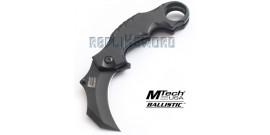 Couteau Karambit Mtech Ballistic MX-A815BK