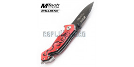 Couteau Dragon Rouge Xtreme Ballistic MX-8058RB