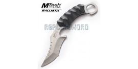 Couteau Karambit Silver Xtreme Ballistic MX-8072S