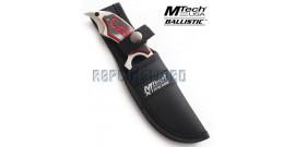 Couteau Scorpion Rouge Xtreme Ballistic MX-8078SBR