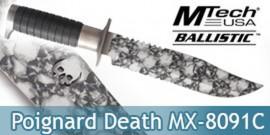 Poignard Death Xtreme Ballistic MX-8091C