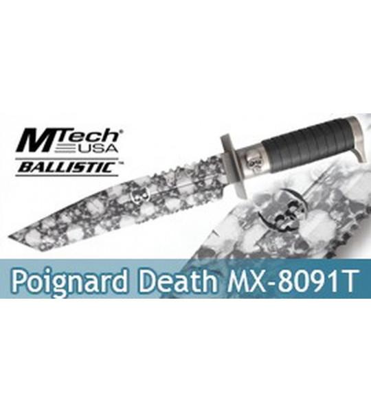 Poignard Death Xtreme Ballistic MX-8091T Lame Tanto
