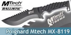 Couteau Xtreme Ballistic MX-8119
