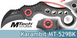 Couteau Karambit Pliant MT-529BK