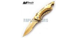 Couteau Pliant Gold Mtech MT-A705GD