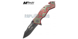 Couteau Dragon Red MT-759BR