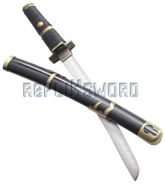 Tanto Kitetsu Black Couteau Zoro
