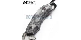 Couteau Lame Fixe Mtech MT-20-18DSC