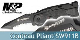 Couteau Pliant Smith & Wesson SW911B
