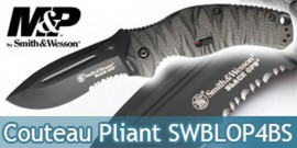 Couteau Pliant Smith & Wesson SWBLOP4BS