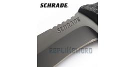 Couteau Schrade Lame Fixe SCHF26