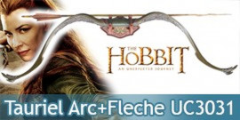 Tauriel Le Hobbit Arc et Fleche UC3031 United Cutlery