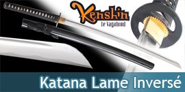 Kenshin Katana Lame Inversée Bushido Maru SW-333DX