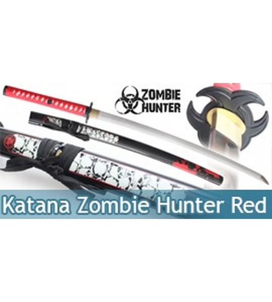 Katana Red Zombie Maru ZS-059RD