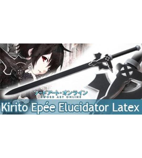 Sword Art Online Epée Kirito Elucidator Latex Mousse