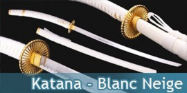 Katana - blanc neige