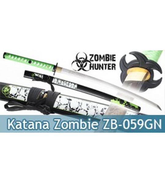 Katana Green Zombie Maru ZB-059GN Epee