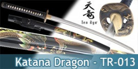 Katana Dragon Ten Ryu Damas TR-013 Epee Sabre