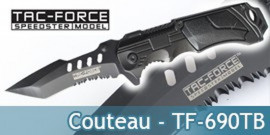 Couteau Pliant Tac Force TF-690TB Master Cutlery