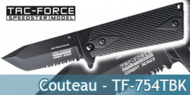 Couteau de Poche Tac Force TF-754TBK Master Cutlery