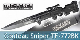 Couteau Sniper Tac Force TF-772BK Master Cutlery