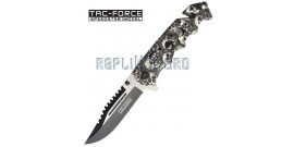 Couteau Tac Force Death  TF-809GY Master Cutlery