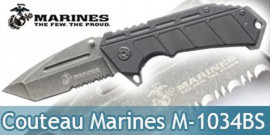 Couteau Pliant Marines M-1034BS Master Cutlery