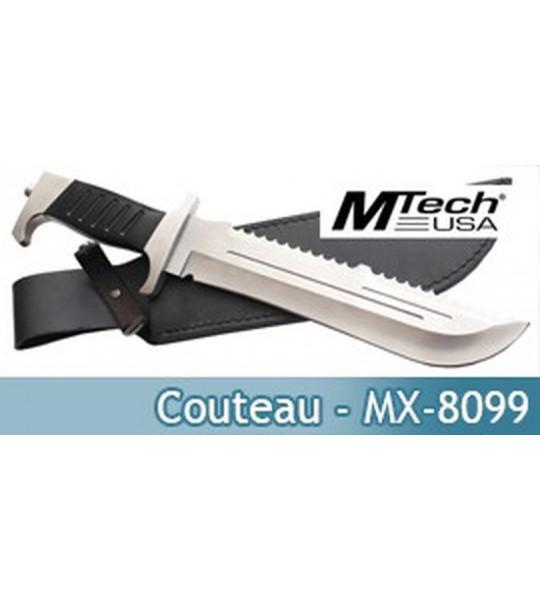 Couteau de Survie MX-8099 Poignard Master Cutlery