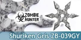 Shuriken Zombie Hunter Etoile ZB-039GY Master Cutlery